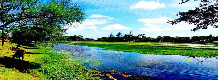 صور غلاف للفيس بوك لحن الحياه Golf Courses Field Golf