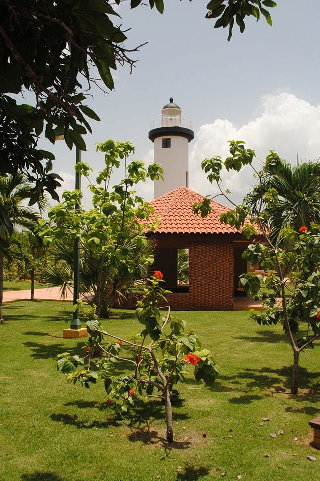 Vista del faro en Rincon,PR!! Puerto rico island