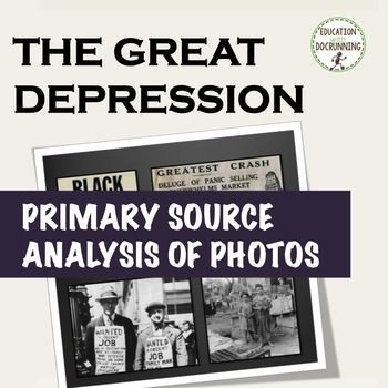 Great depression primary source analysis and center activity of great depression primary source analysis and center activity of photos fandeluxe Choice Image