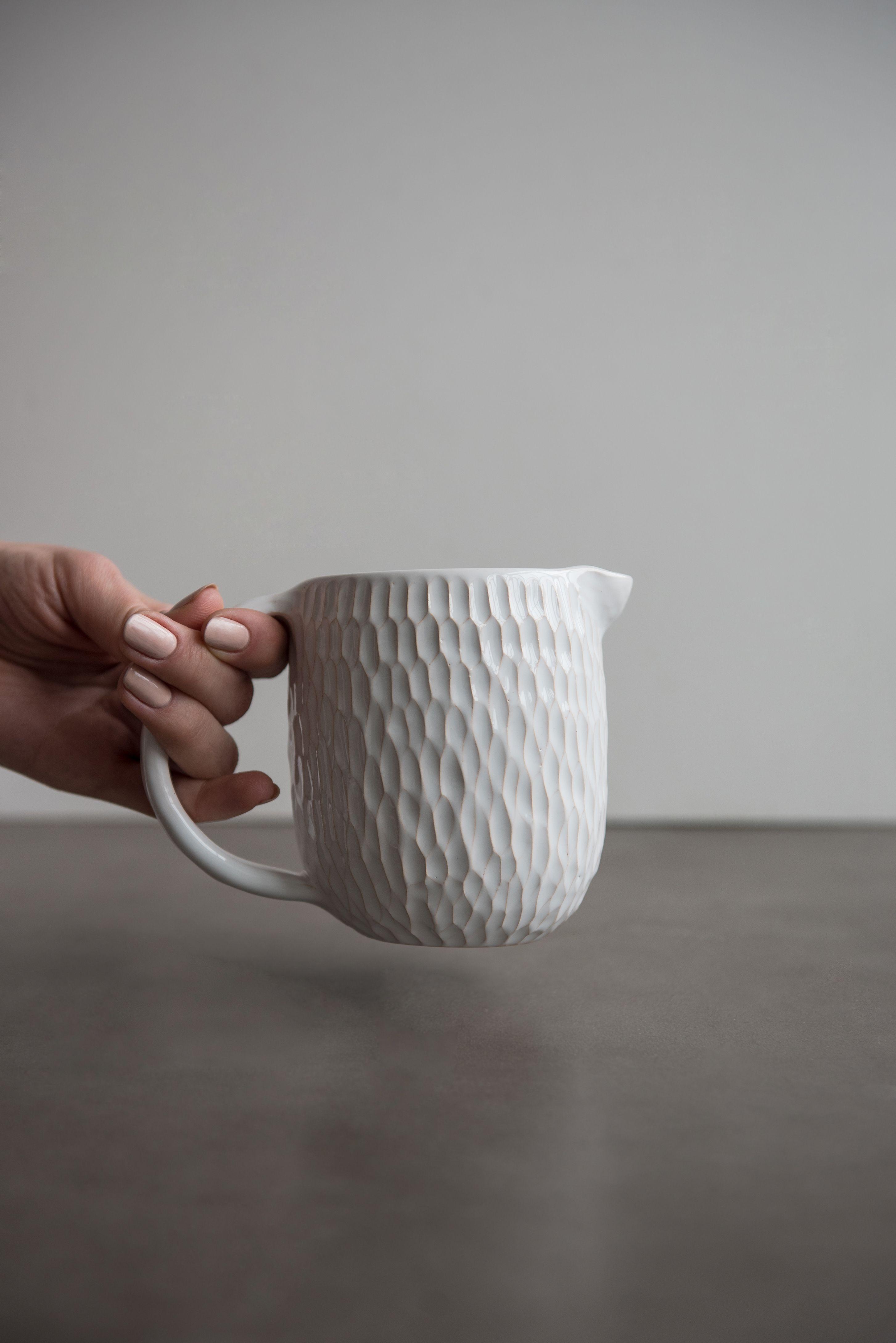 Medium Ceramic Milk Carton Jug Ceramic Gifts Ceramics Vintage Kitchen Accessories