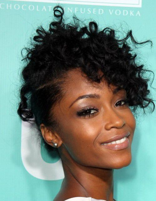 Short Curly Black Hairstyles 2016 For Prom Medium Natural Hair Styles Natural Hair Styles Hair Styles