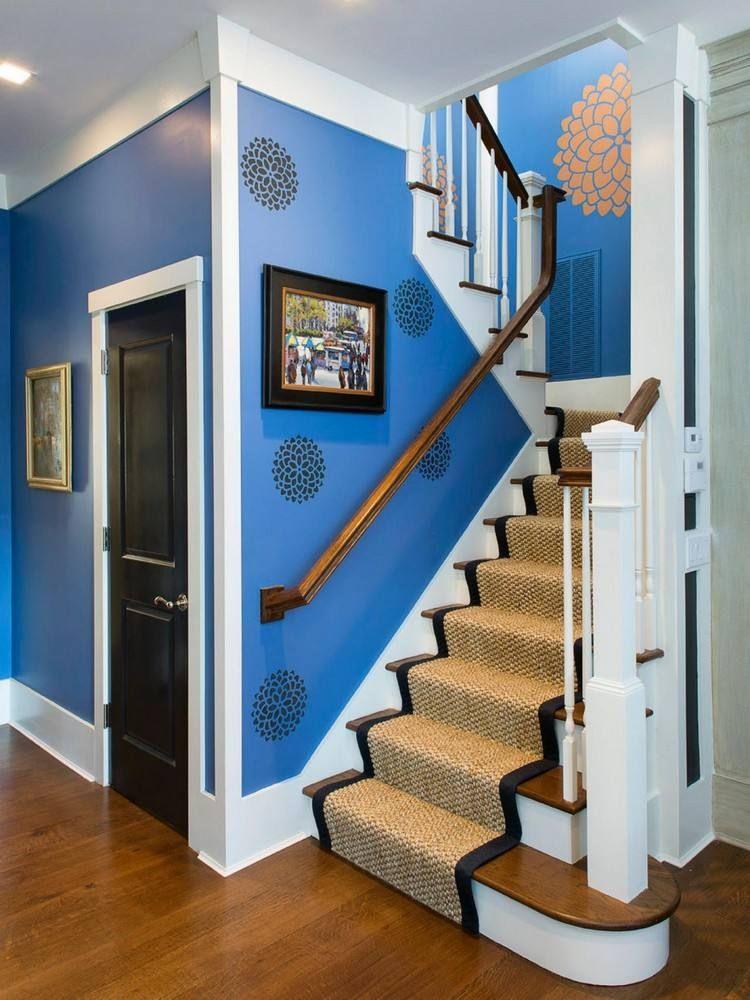 wand streichen muster und 65 ideen f r einen neuen look wohnen w nde wandfarbe und wand. Black Bedroom Furniture Sets. Home Design Ideas