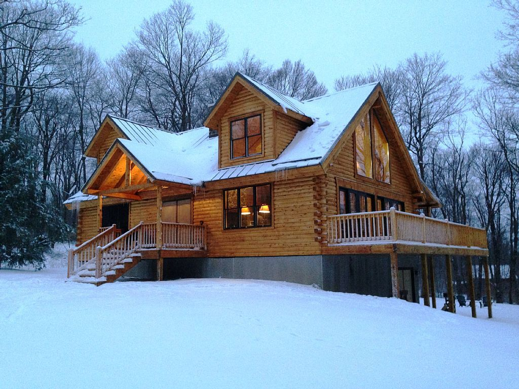 Beau New Log Cabin Right Next To 7 Springs!!!...   HomeAway Champion. Cabin  RentalsVacation RentalsLog ...