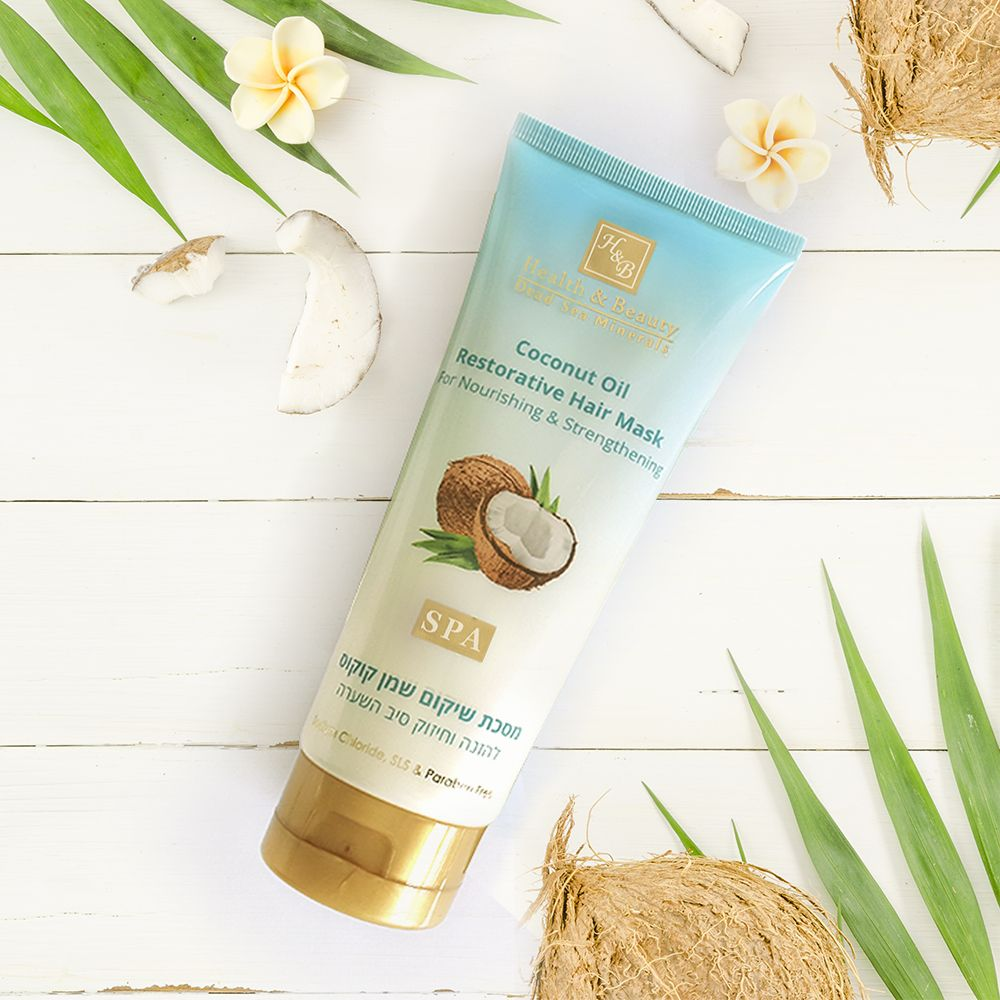 Coconut Oil Restorative Hair Mask For Nourishing and Hair