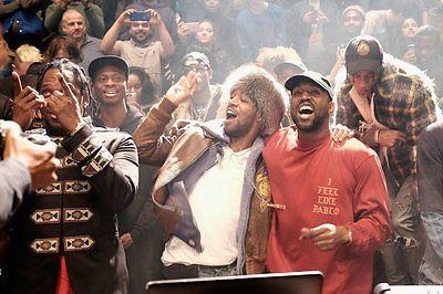 Kanye West The Life Of Pablo Artwork Orginal Artwork Kid Cudi Square Silk Poster Kanye West Kids Kid Cudi Kanye West Kid Cudi Poster