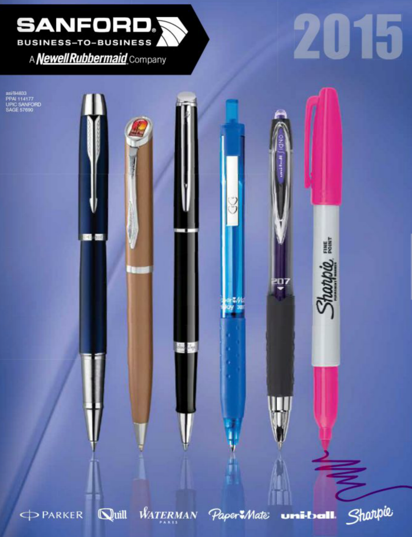 Sanford | Our Preferred Pen Supplier - End Quantity Pricing, Six excellent  brands: Papermate