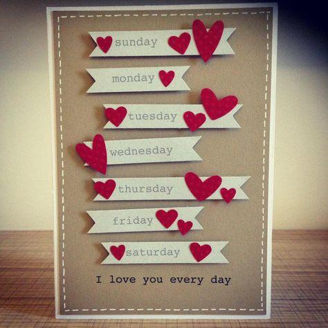 29 Ideas Birthday Card Quotes For Boyfriend Husband Wife Anniversary Cards Handmade Husband Birthday Card Valentine Day Cards