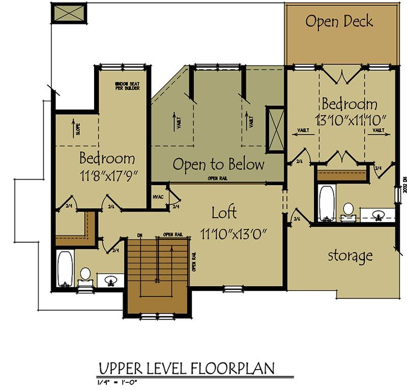 Small Lake Cottage Floor Plan   Cottage floor plans, Lofts and Lake ...