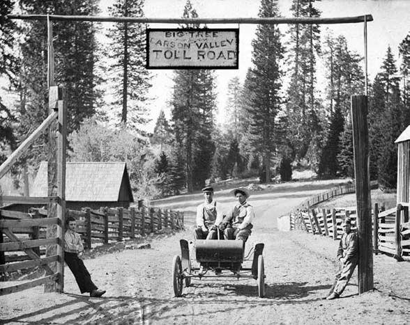 California History Tuolumne County Cold Springs
