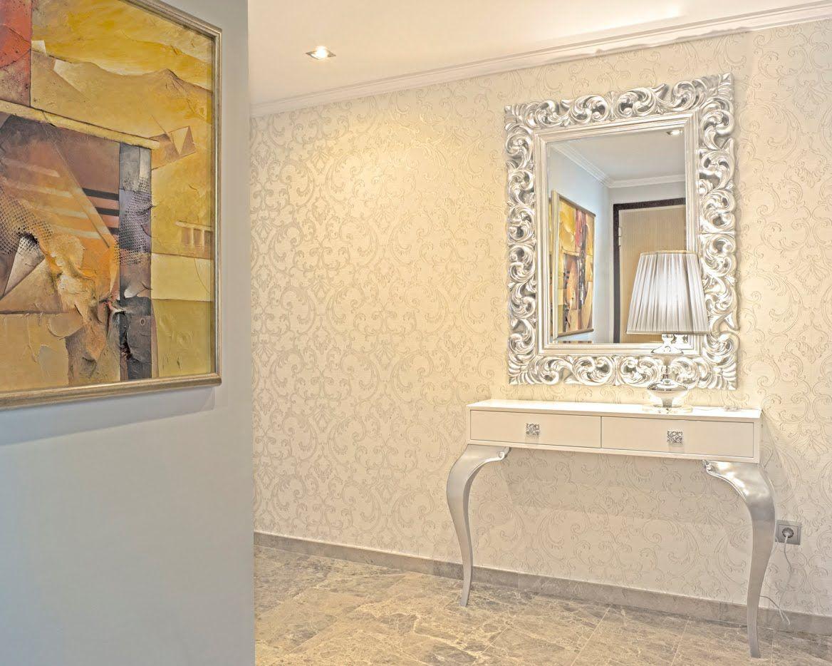 Credenzas Modernas Para Recibidor : Decorando un elegante recibidor y salón pame entryway decor