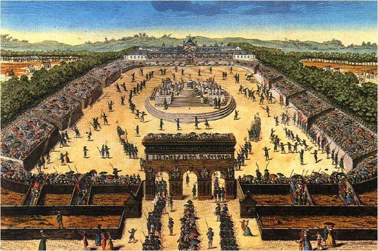 Fiesta Nacional de Francia. Campo de Marte 1790