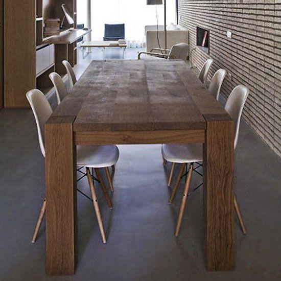 Comedor loft sillas eames originales c u for Sillas comedor originales