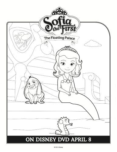 Sofia The Floating Palace Coloring Page Printable Coloring Pages