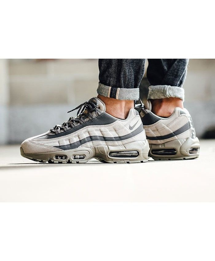 e06d38027c3739 Air Max 95 Ultra Essential Beige Taupe Trainer Style is very innovative