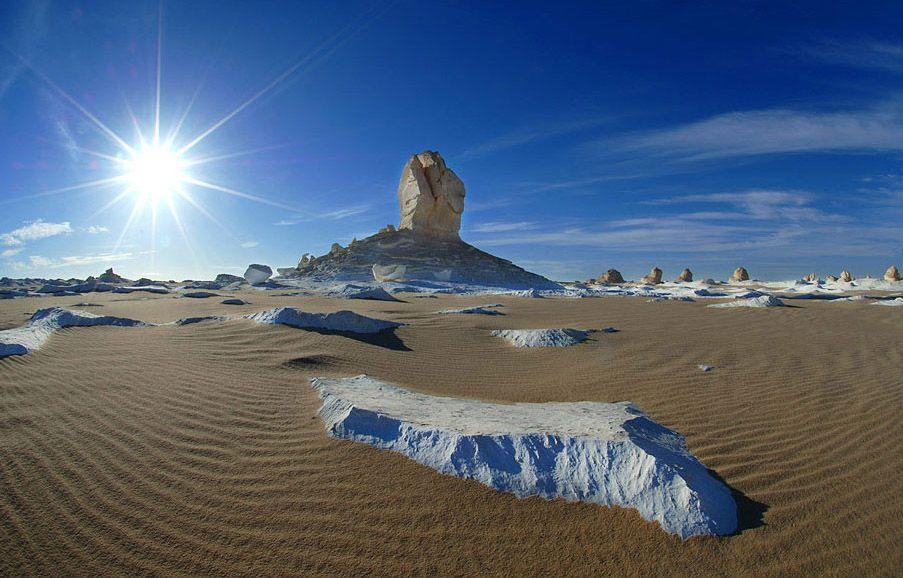 白砂漠 あっつー…