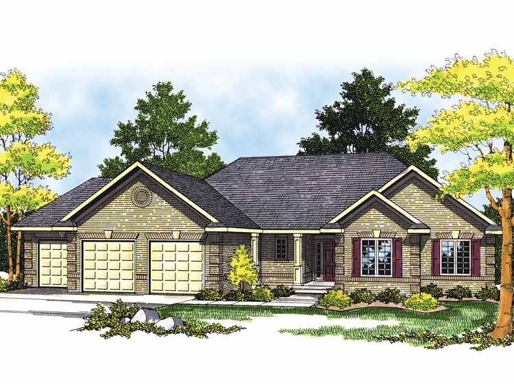 Eplans ranch house plan much to offer 1640 square feet and 3 bedrooms from · ranch home