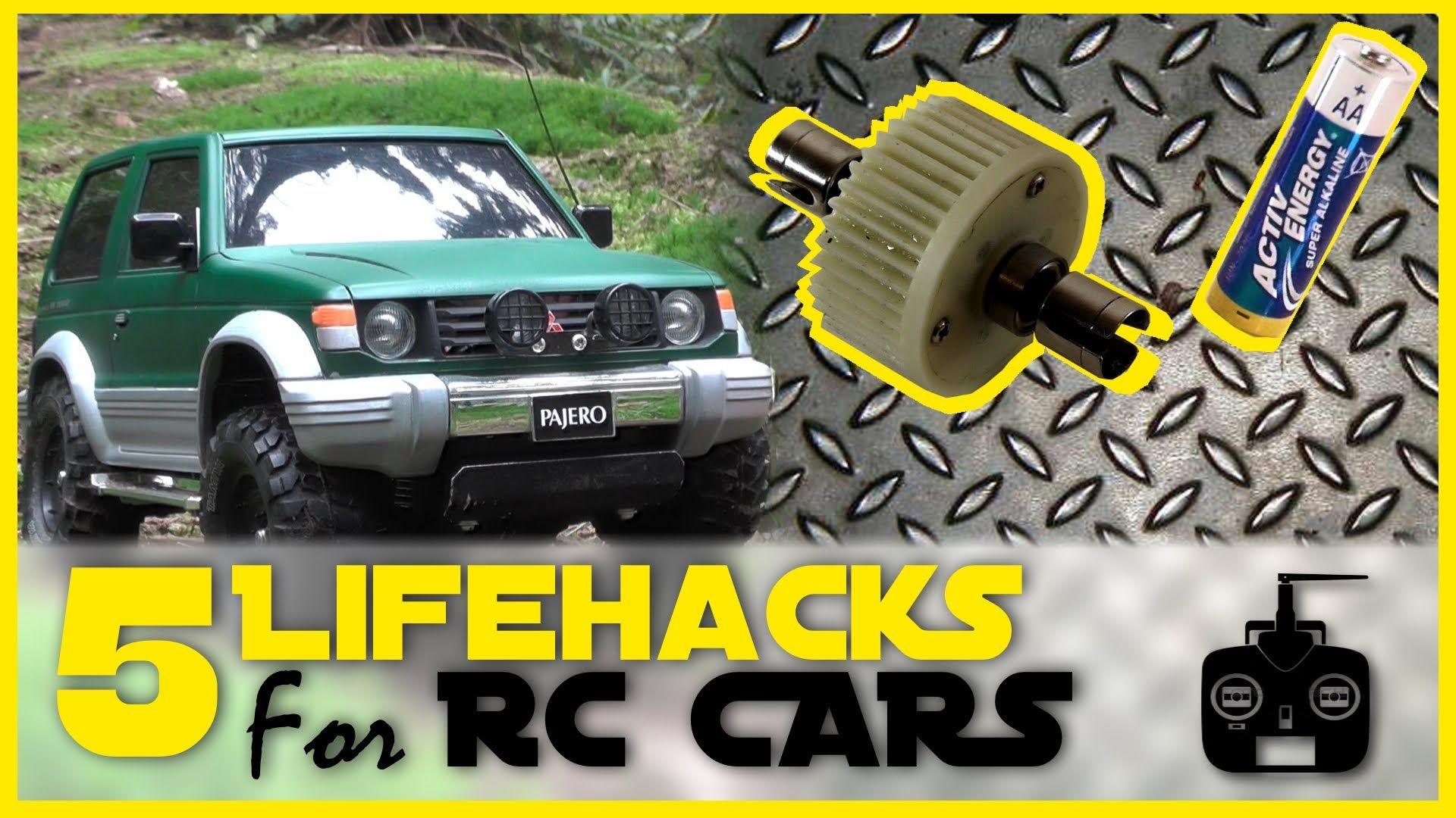 5 Rc Car Lifehacks Lock Diff Diy Drift Tires Battery Test Etc Radio Control Rc Cars Radio Controlled Boats