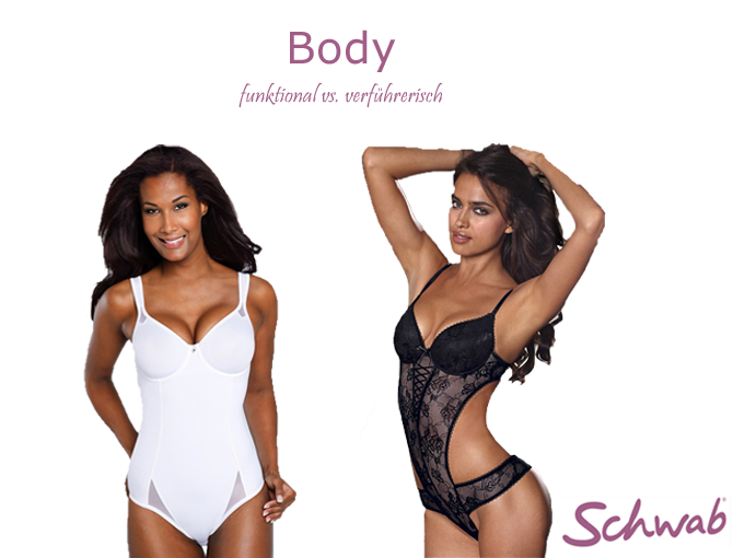 Der #Body - bequeme und sexy Wäsche für die Frau. Es muss nicht immer zweiteilig sein!