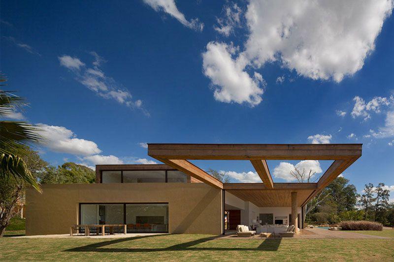 Casa Itu by Studio Arthur Casas Itu, Architecture design and