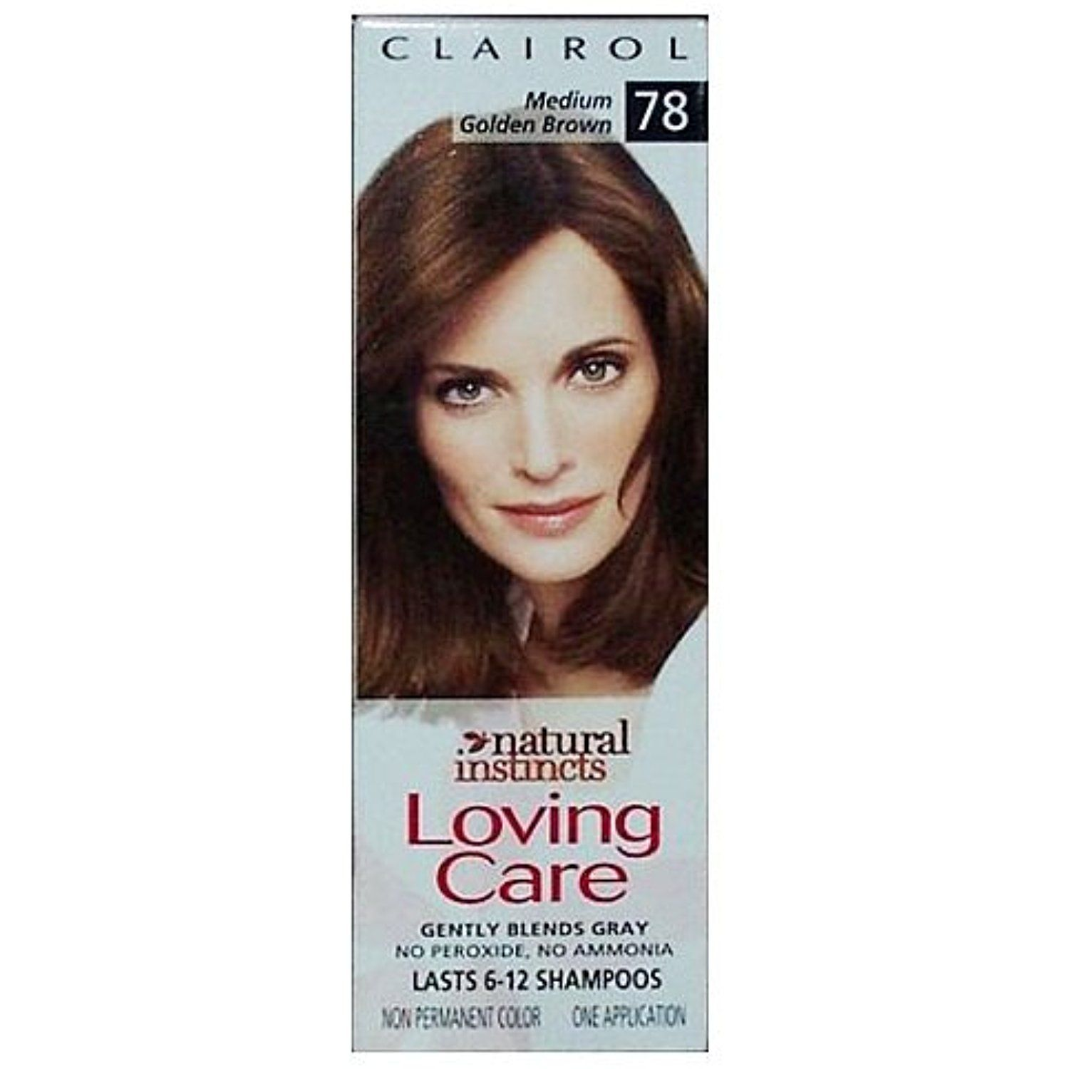 Clairol Loving Care Hair Color Crme Lotion 78 Medium Golden Brown
