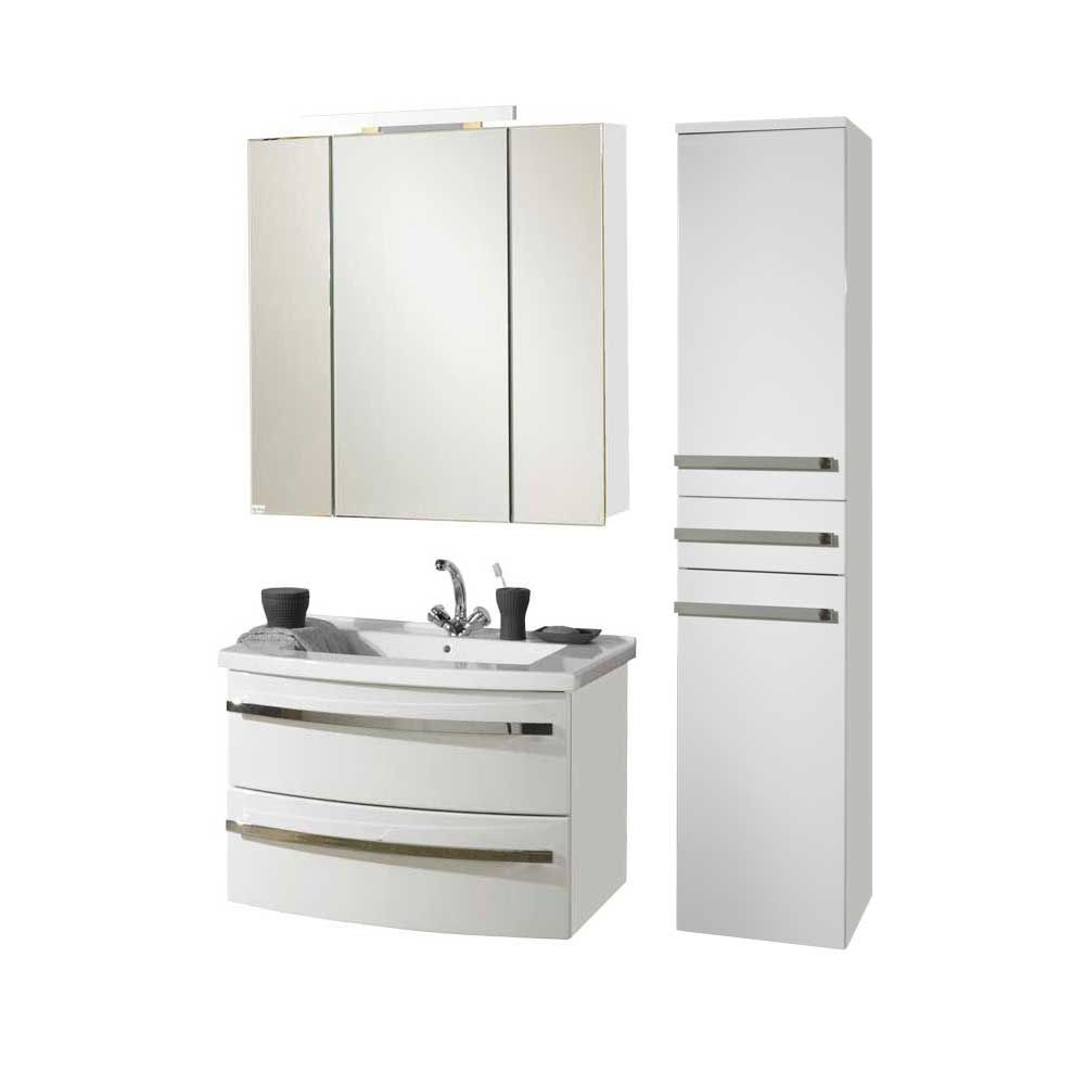 Badezimmer Set In Hochglanz Weiss Modern 3 Teilig Jetzt Bestellen Unter Https Moebel Ladendirekt De Bad Badezimmer Set Badezimmermobel Set Badezimmer Mobel
