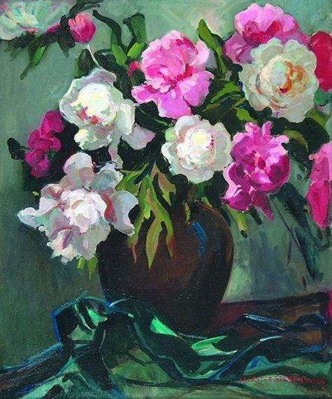 Flowers In A Vase William Lester Stevens Art Is Not What You See