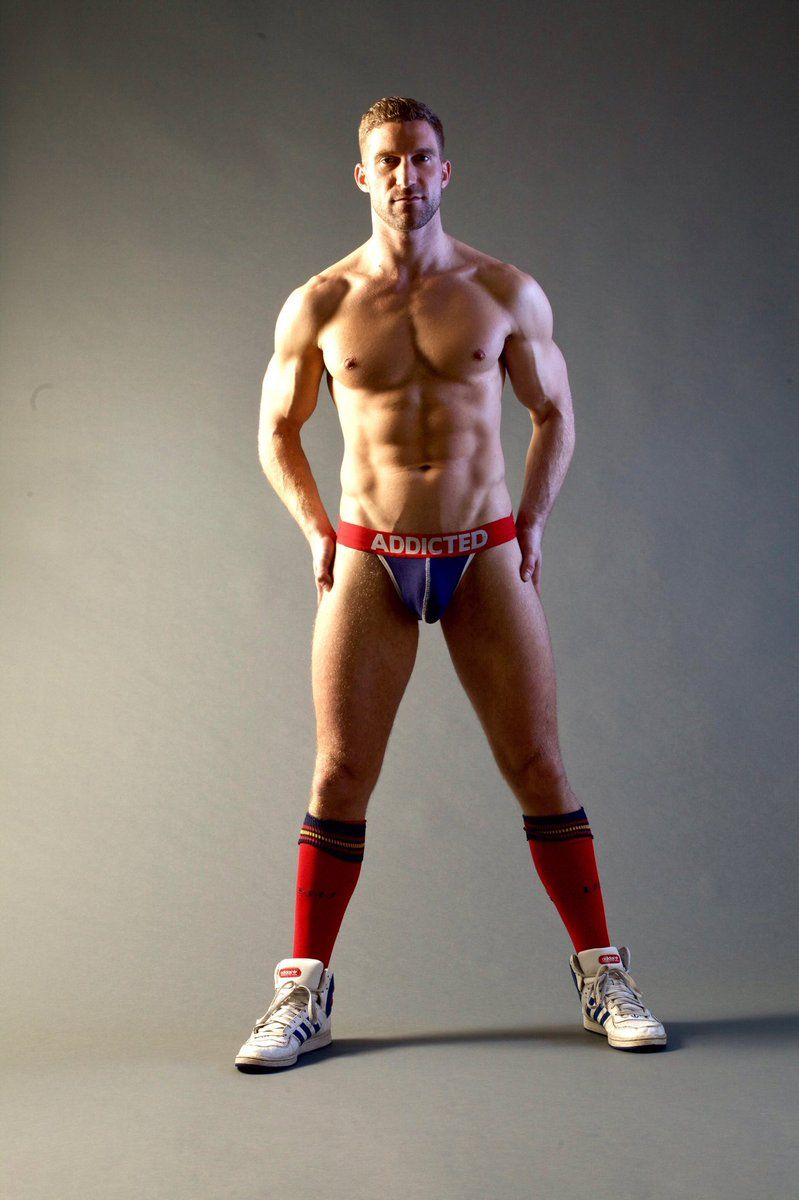 not Handsome muscular man very hot