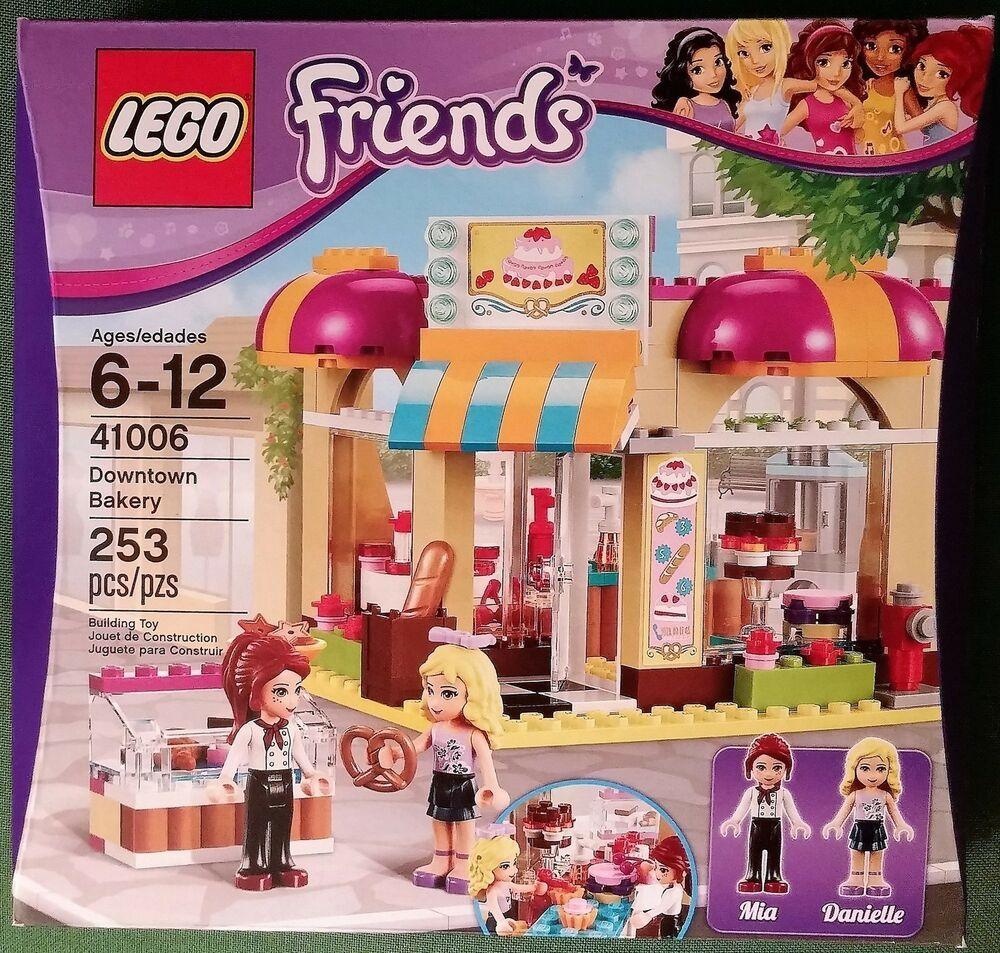 Downtown Set 41006 Friends Mia Pretzel NewLego Bakery Danielle pzMSUqV