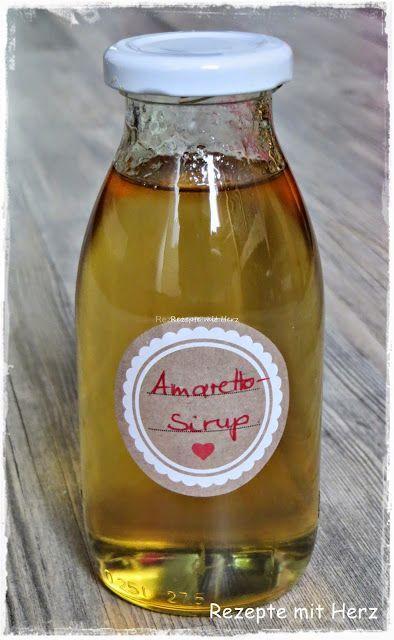 Amaretto Sirup für Kaffee (Thermomix - Rezepte mit Herz)