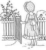 vintage coloring book illustrations - Bing Images