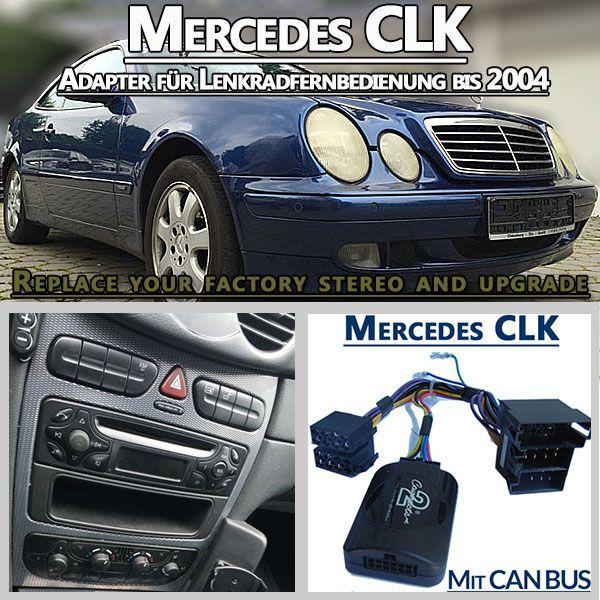 Mercedes-CLK-Adapter-für-Lenkradfernbedienung-bis-2004 http://radio-adapter.eu/produkt/mercedes-clk-209-adapter-fuer-lenkradfernbedienung-bis-2004/ Mit dem Mercedes CLK 209 Adapter für Lenkradfernbedienung bis 2004 kann man ein neues Autoradio einer Fremdmarke in dem Fahrzeug installieren. Merh unter https://www.pinterest.com/radioadaptereu/einbauanleitungen-f%C3%BCr-autoradios/