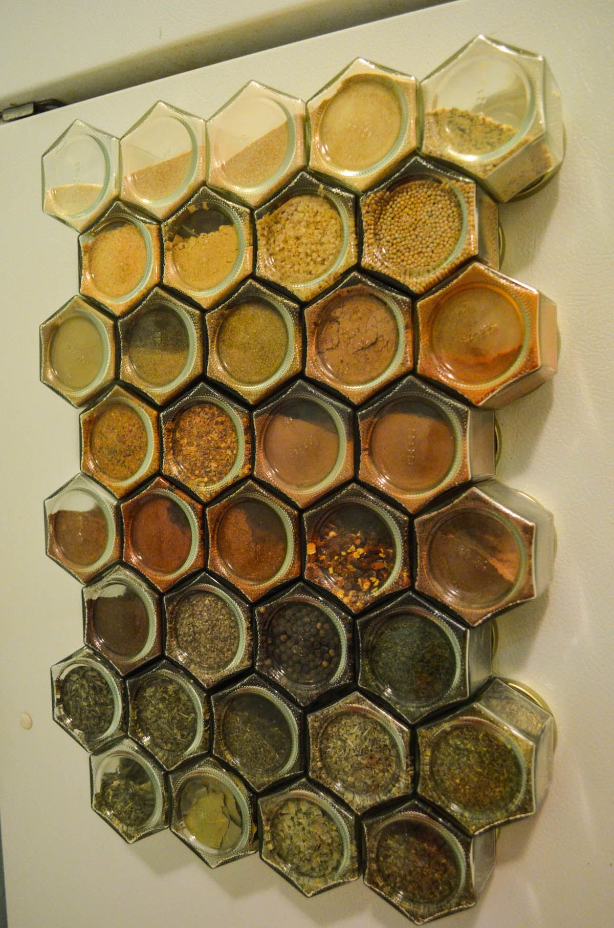 Organic Spice Rack Prepossessing Hanging Spice Rack Holds To Your Fridge Customer Photo Share Of The Review