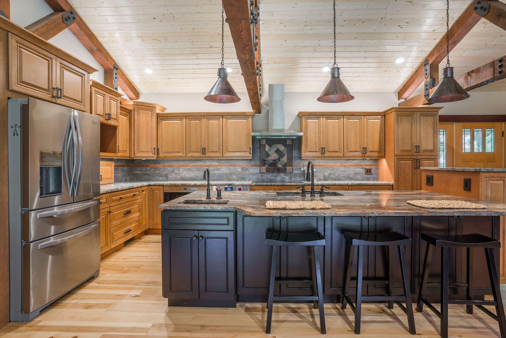 Co66 Cinnamon Glazed J K Cabinetry In 2020 Espresso Kitchen Cabinets Kitchen Cabinet Styles Maple Kitchen Cabinets