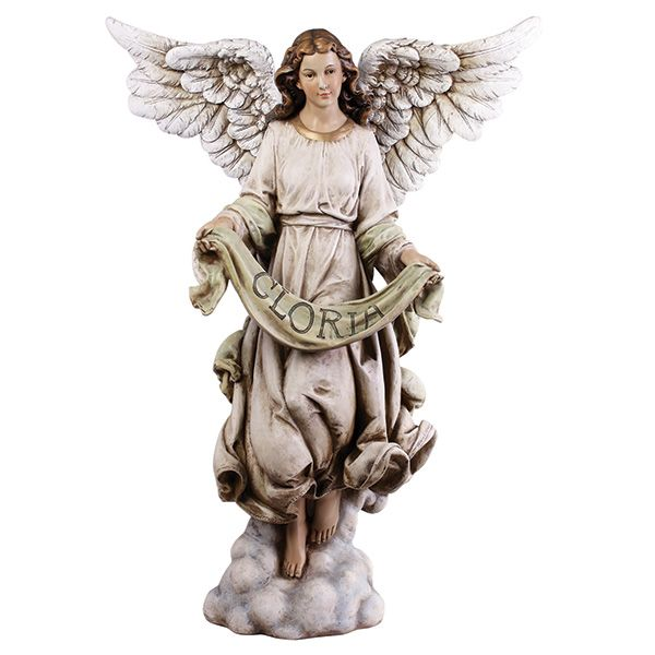 Gloria Angel 39 Scale and Angel - outdoor angel christmas decorations