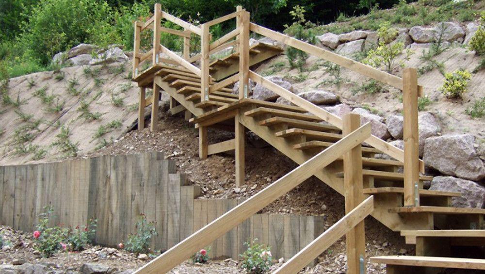 Génial Un Escalier Extérieur En Bois : Comment Faire Le Bon Choix ?
