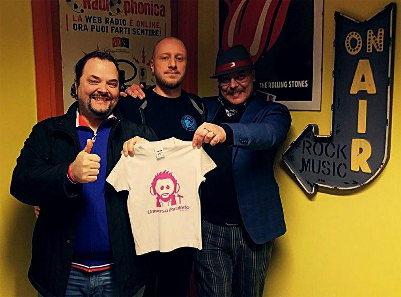 #Perugia - Il maestro Edoardo Antolini per la prima volta in assoluto porta le arti marziali in radio ospite della trasmissione Universo Parallelo nella diretta del 10/02/2015