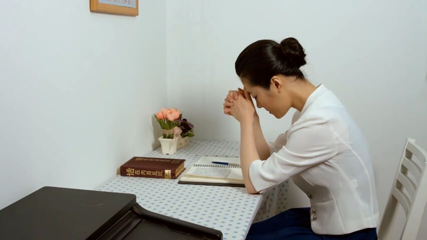 Pledging my life to devotion with images prayer images