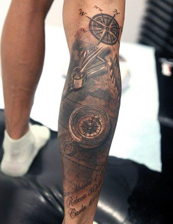 Top 75 best leg tattoos for men tattoos for men for Mens tattoos pinterest