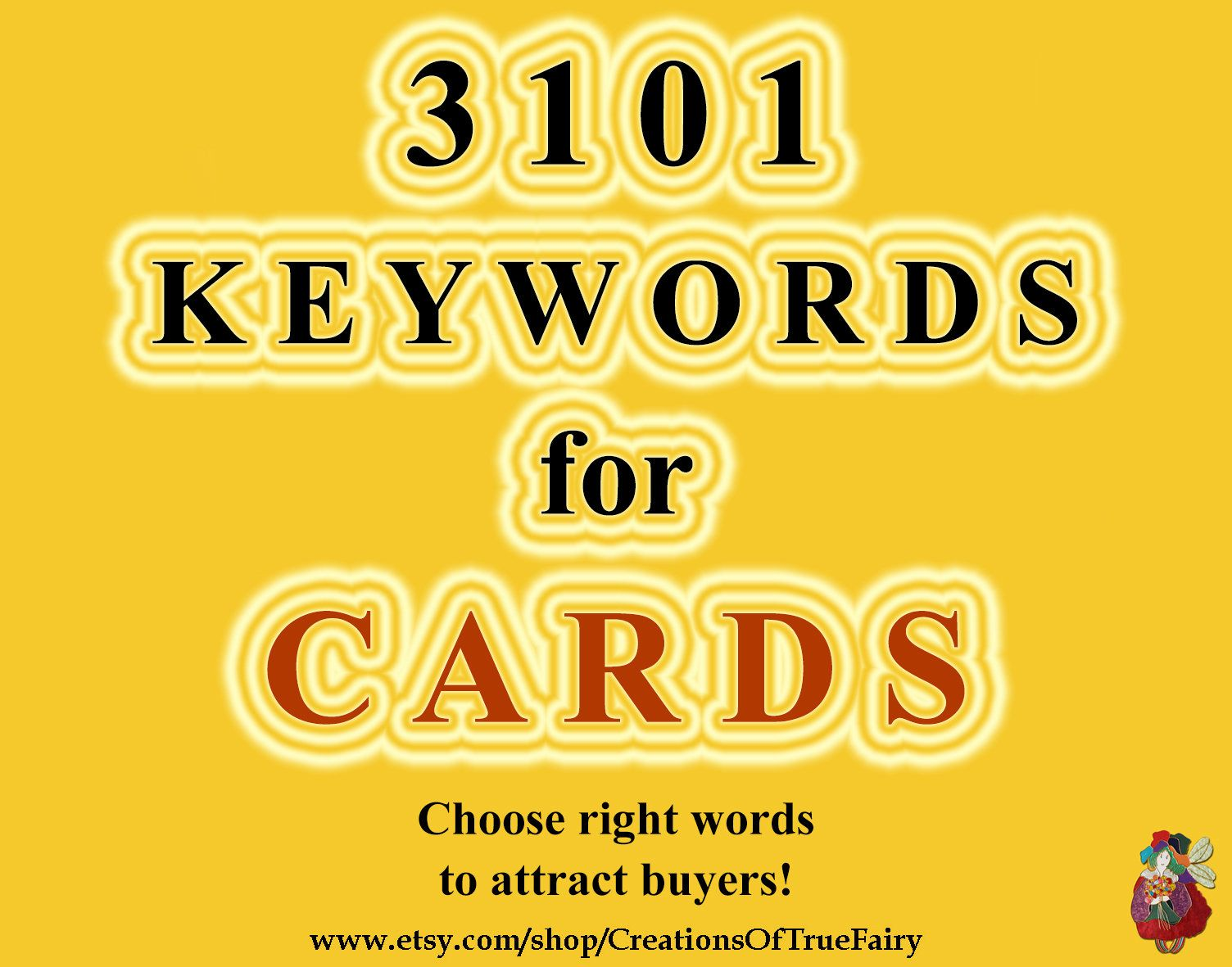 3101 Card Keywords Top Etsy Keywords For Cards Tagging Items Seo