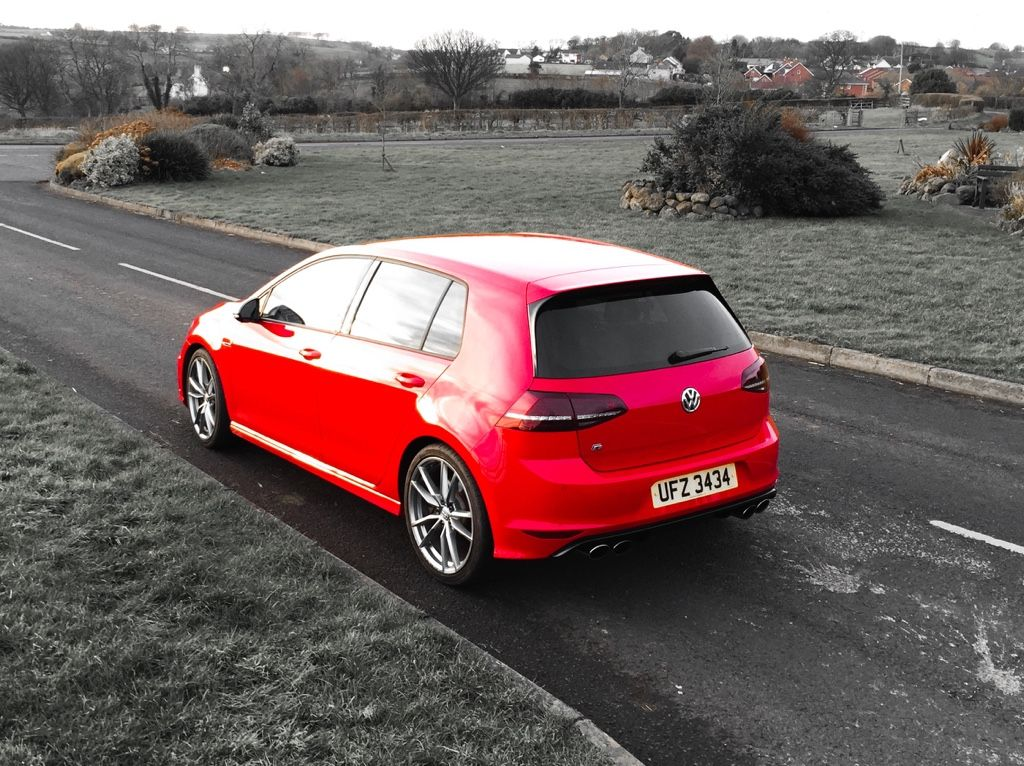 Mk7 Golf R Tornado Red With Pretoria Wheels Carros