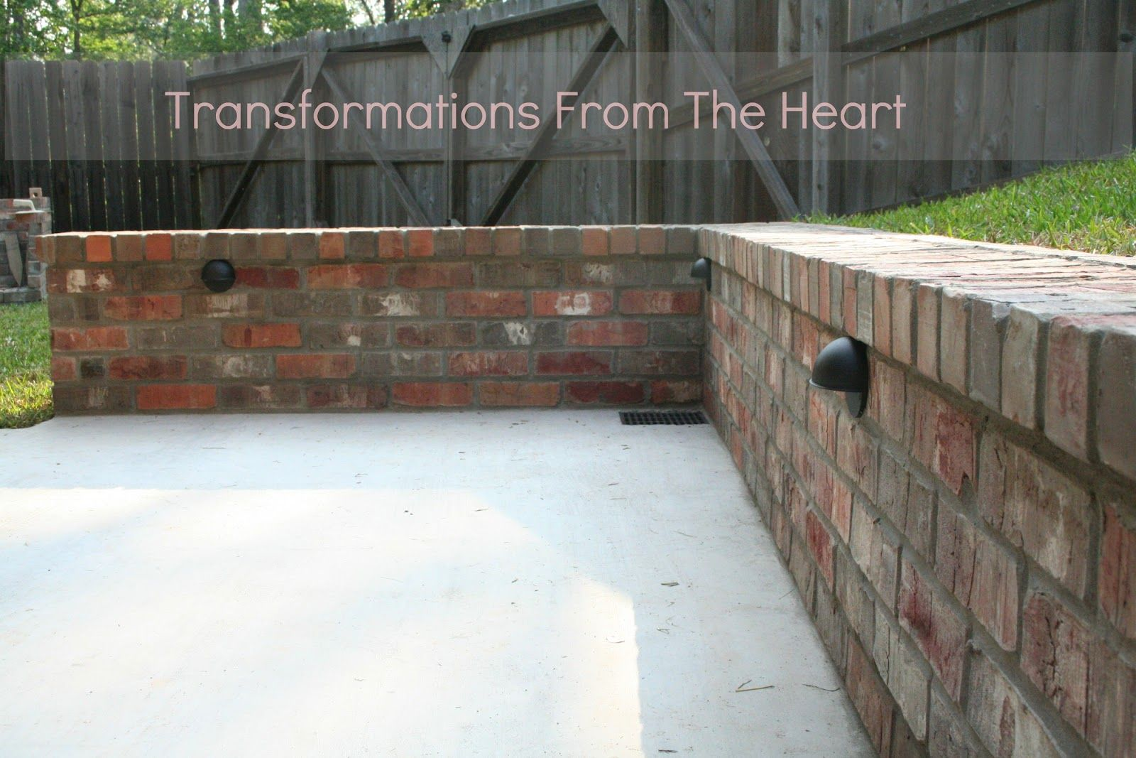Image Result For Retaining Wall Beside Garage Retaining Wall Garage Transformations