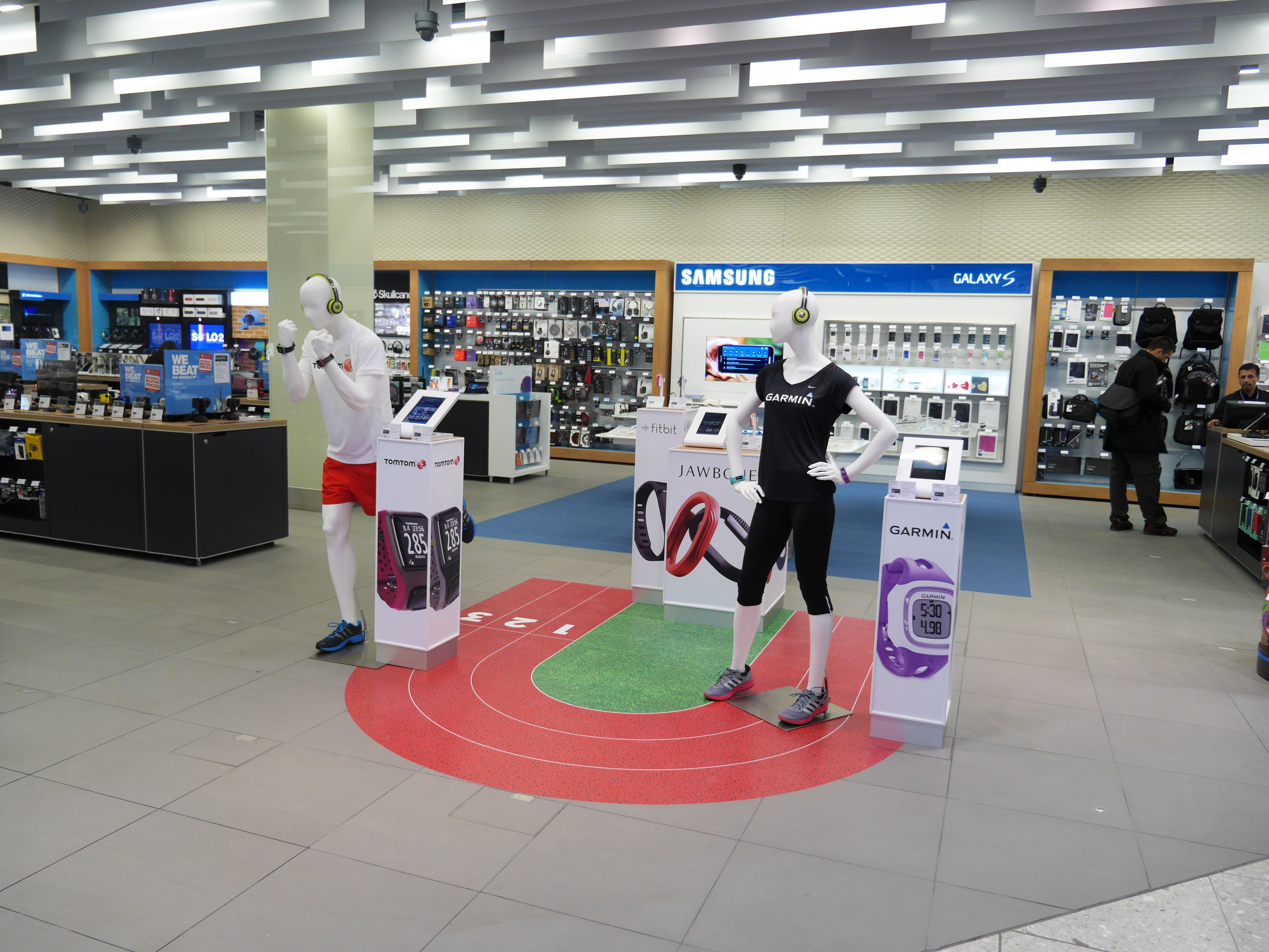 An image from our brand new Dixons Travel store in Heathrow