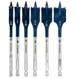 Bosch 6 Piece Daredevil Spade Drill Bit Set With Images Drill Bit Sets Drill Bits Bosch