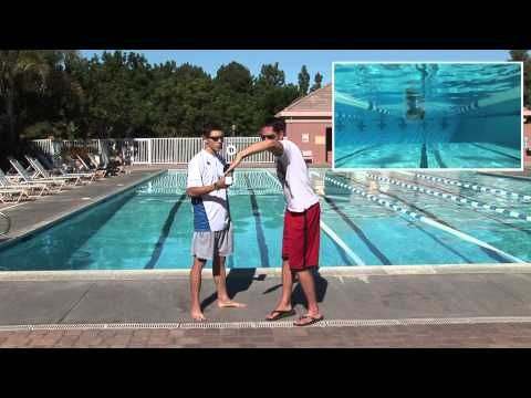 Triathlon Swimming - Arm Extension and Pull - YouTube