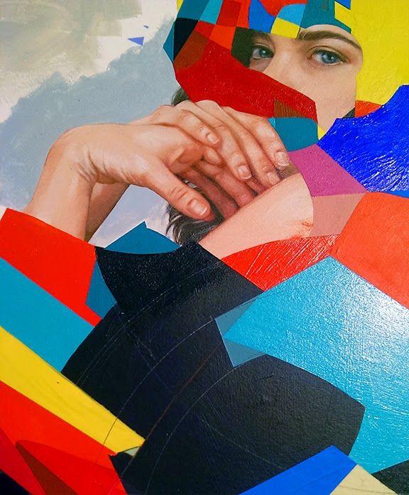 Paintings by Erik Jones | http://ineedaguide.blogspot.com/2015/02/erik-jones.html #art #paintings