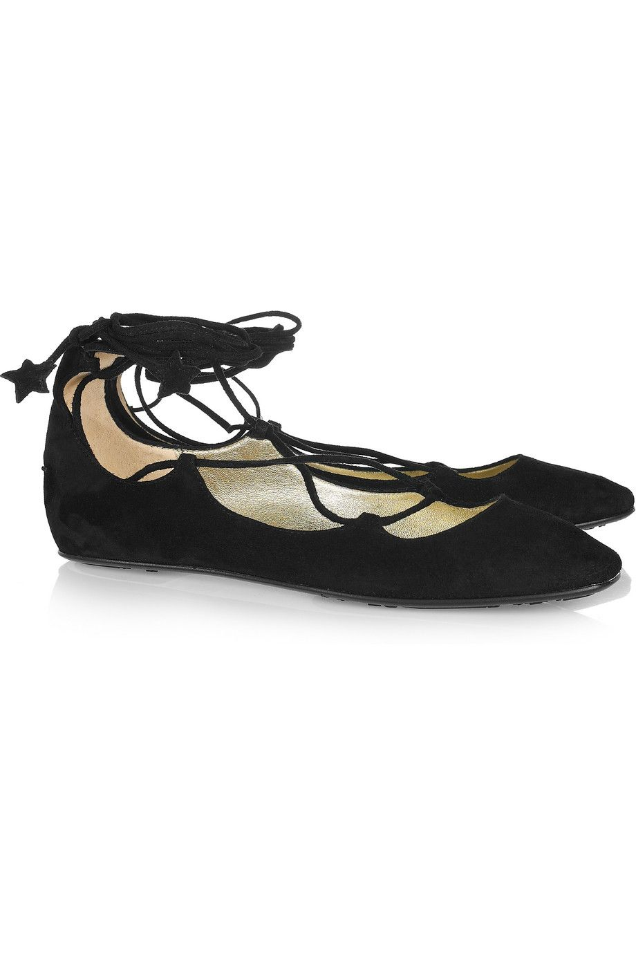 a4c3606d2182 JIMMY CHOO lace up star flats - obviously influenced by early 19th century  Regency period shoes