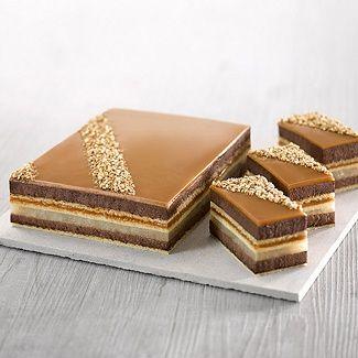 pour 1 cadre de 40 x 60 cm entremet choco poire caramel bo g teaux pinterest. Black Bedroom Furniture Sets. Home Design Ideas