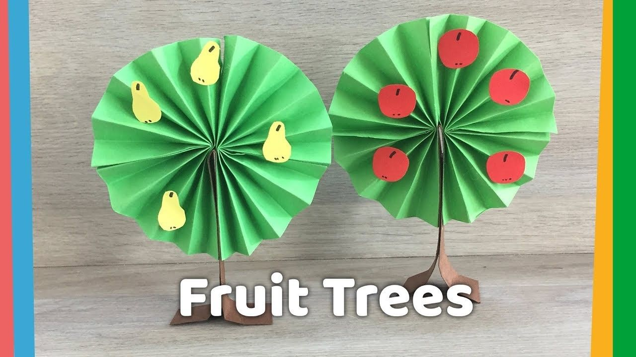 How To Make Simple Paper Tree Papercraft Pinterest Paper Trees