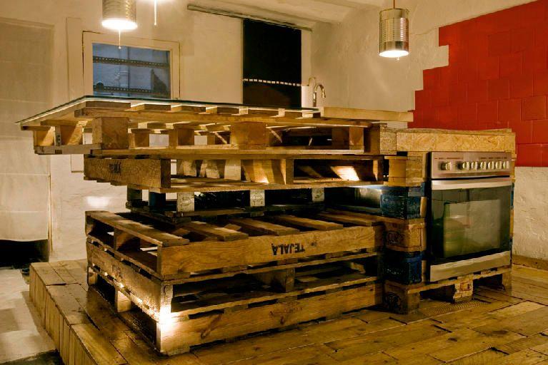 Cozinhas Feitas Com Paletes De Madeira Paletes De Madeira