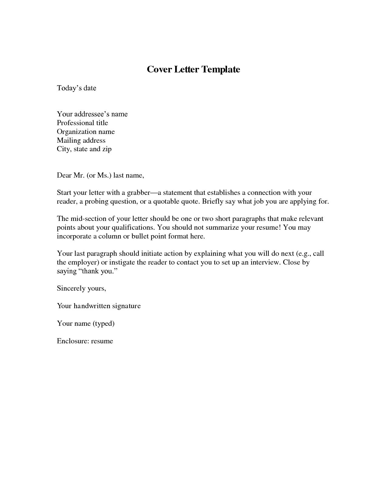 cover letter template resume badak Job application cover